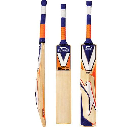New Slazenger Academy Plastic Cricket Bat Size 3 Junior Beginner Training Bat